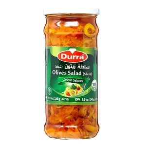 Durra Olives Salad Sliced 325g
