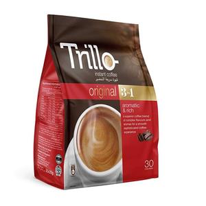 Trillo 3In1 Coffee Pouch 30x20g