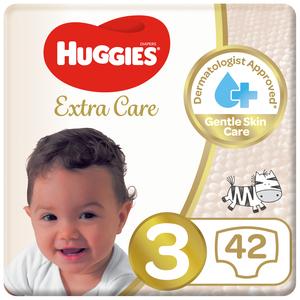 Huggies Ultra Comfort Baby Diapers Size 3 4-9 kg 2x42pcs