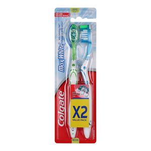Colgate Toothbrush Max White Medium 2s