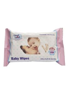 Cool & Cool Baby Wipes 2x72s