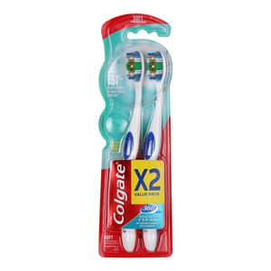 Colgate Toothbrush 360 Soft 2s