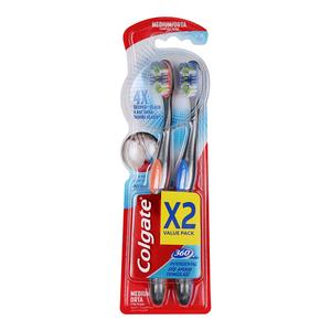 Colgate Toothbrush 360 Interdental Med ium 2s