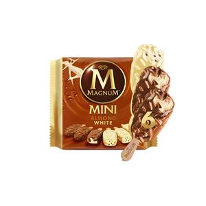 Magnum Mini White Almond Ice Cream 345ml
