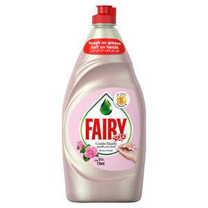 Fairy Rose Petals Dish Washing Liquid Soap 750ml