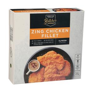Good Old Butcher Zing Chicken Fillet 470g