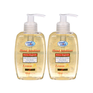 Cool & Cool Hand Sanitizer 2x250ml