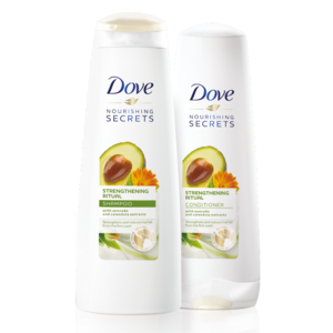 Dove Avocado Shampoo With Free Conditioner 400ml+320ml