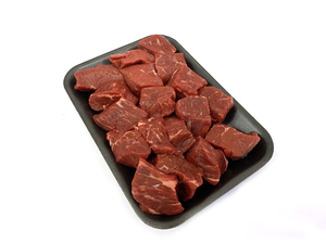 Australian Beef Topside Cubes 500g