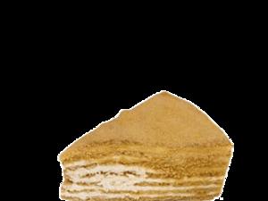 Honey Cake Slice 1pc
