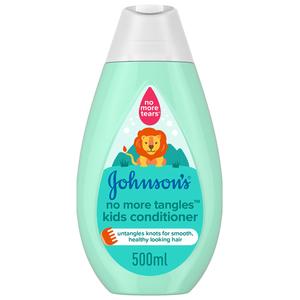 Johnson's Kids Shampoo & Conditioner Shiny Drops Spray 500ml+200ml