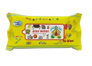 Cool & Cool Kids Wet Wipes Antibact 10s