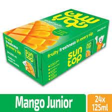 Suntop Mango 18x125ml