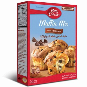 Betty Crocker Chocolate Chip Muffin Mix 500g
