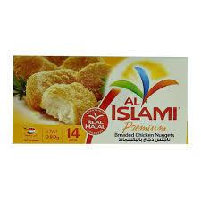 Al Islami Chicken Franks Nuggets Hot N Spicy 280g