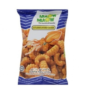 Miaow Cuttlefish Crackers 10x60g