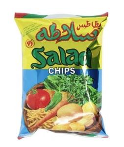 Ajman Salad Chips 25x15g