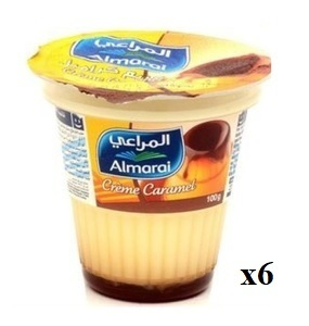 Almarai Cream Caramel 6x100g