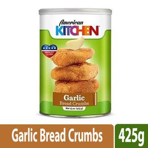 American Kitchen Bread Crumbs Garlic 425g