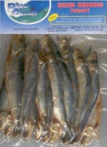 Blue Ocean Dried Fish Herring Tunsoy 227g