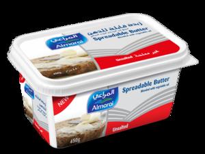 Almarai Butter Spreadable Unsalted 450g
