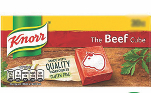 Knorr Beef 2 Cubes Gulf 18g