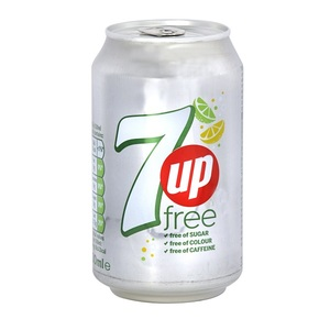 7Up Free Can 155ml