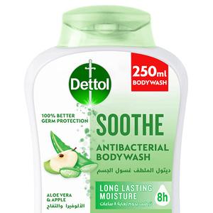 Dettol Soothe Showergel & Bodywash Aloe Vera & Apple Fragrance 250ml