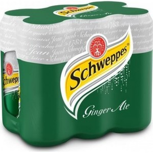 Schweppes Ginger Ale 6x250ml