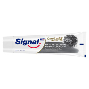 Signal Tooth Paste Complete Charcoal White and Detox 100ml