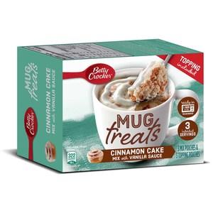 Betty Crocker Mug Treat Cinnamon Cake Mix 1s