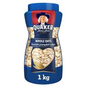 Quaker Whole Oats Pet Jar 1kg