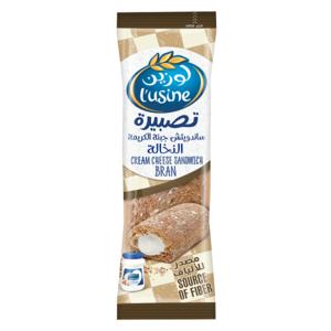 Almarai Lusine Bran Cream Cheese Sandwich 112g