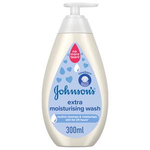 Johnson's Baby Wash Extra Moisturising 300ml