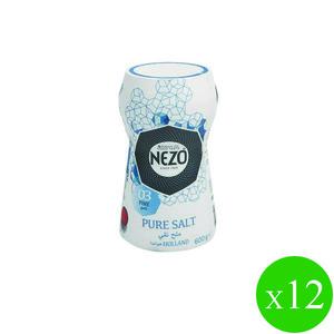 Nezo Refined Salt Plastic Bott 12x600g