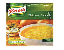 Knorr Packet Soup Chicken Noodle 12x60g