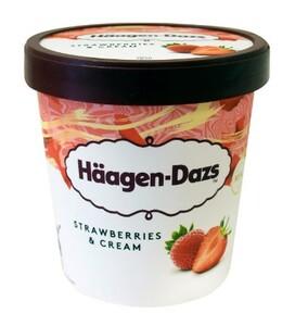 Haagen-Dazs Strawberries & Cream 460ml