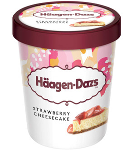 Haagen Dazs Strawberry CheeseCake 460ml