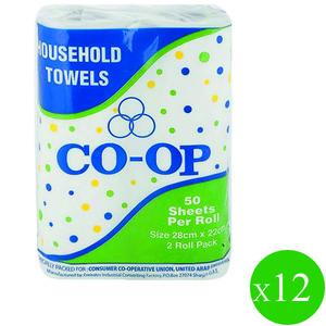 Co-Op Kitchen Towel 12x2s