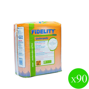 Fidelity Underpads 15s