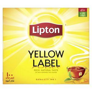 Lipton Yellow Label Black Tea 100s