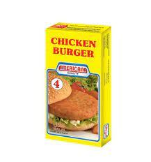 Americana Chicken Burger 200g