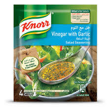 Knorr Salad Mixes Vinegar & Paprika 4x10g