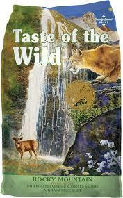 Taste Of The Wild Rocky Mountain Feline Formula 5 lb