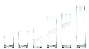 Glass Vases Large 1pc