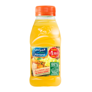 Almarai Pineapple Orange & Grape Juice 200ml