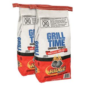 Grill Time Charcoal Briquettes 2x4.2lb