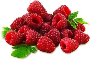 Raspberry Red Clamashell Organic 1pkt
