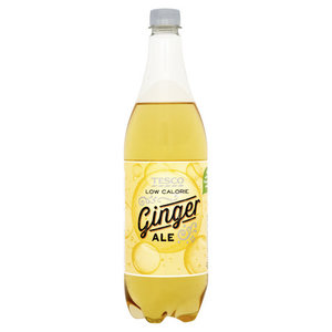 Tesco Low Calorie American Ginger Ale 1L