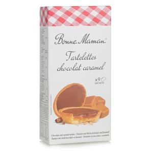 Bonne Maman Chocolate & Caramel Tartlets 135g